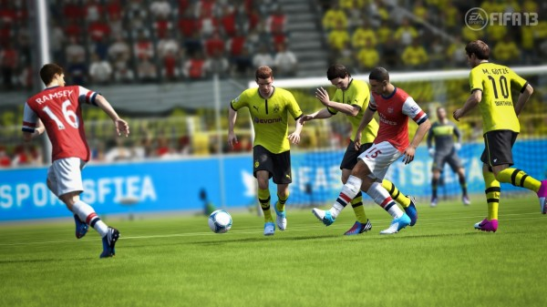 FIFA 13 Gamescom Screenshot Chamberlain  FIFA 13 Screenshots From Gamescom fifa 13 chamberlain