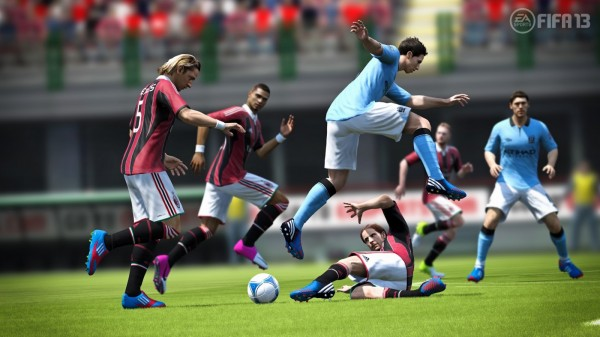 FIFA 13 Gamescom Screenshot Antonini  FIFA 13 Screenshots From Gamescom fifa 13 tacle antonini