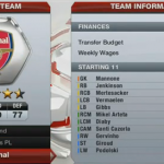 FIFA 13 Career Mode Arsenal