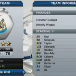 FIFA 13 Career Mode Newcastle