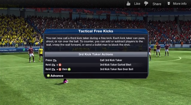 FIFA 13 Tactical Free Kicks Tutorial