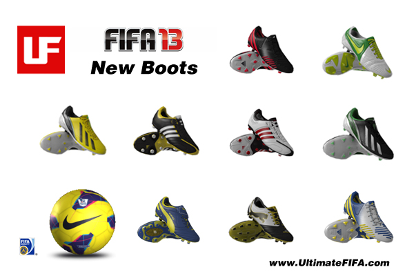 FIFA 13 New Boots  New Boots Added To FIFA 13 FIFA 13 New Boots