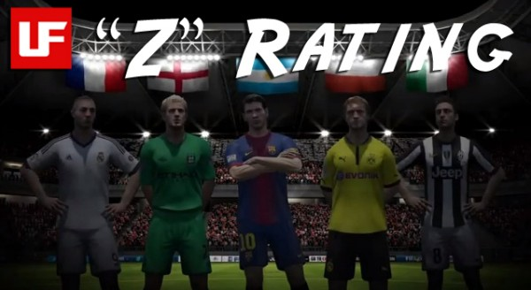 FIFA 13 Ultimate Team Z Rating