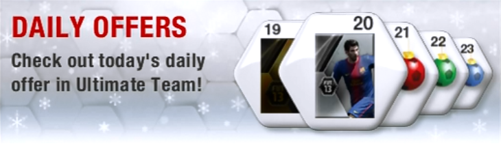 Christmas Ultimate Team Offers