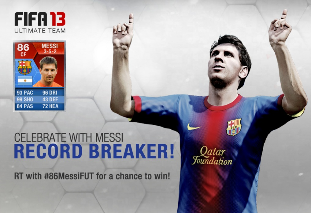 Messi 86 Ultimate Team