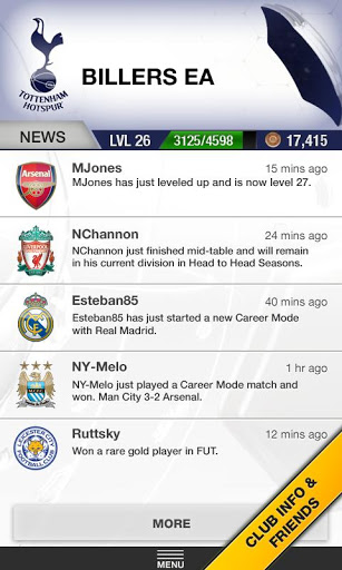 Ultimate Team Android App