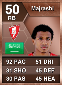 97 Pace Abuse Rating  Assemble A Cheap, Pacey Bronze FUT Squad Abdulaziz Majrashi philosophical fifa