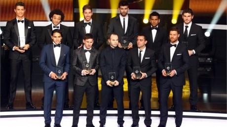 FIFA 13 TOTY  FIFA 13 TOTY Details and Upgraded Ratings FIFPro World XI 2012