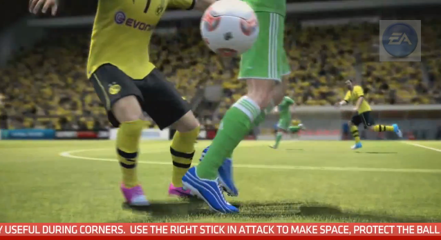 Using The Right Thumbstick In FIFA 13