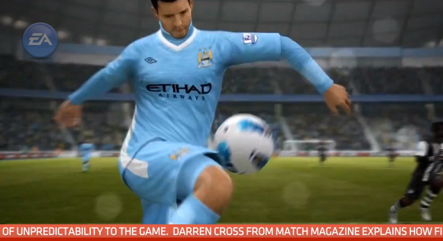 FIFA 13 First Touch