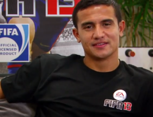 Tim Cahill Runs Through His FIFA 13 Ultimate Team Best 11