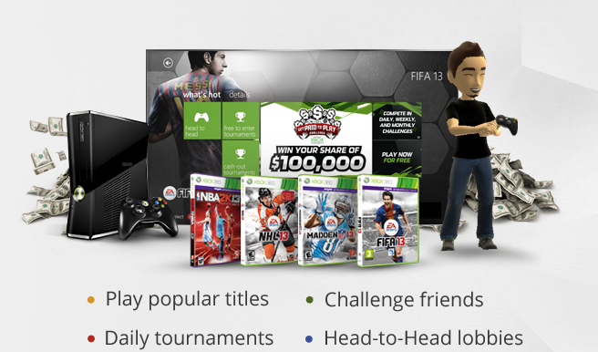 Virgin Gaming Xbox Tournaments App