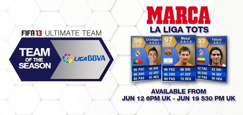 FIFA 13 La Liga Team of the Season