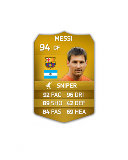 New FIFA 14 Ultimate Team Cards are shield shaped
