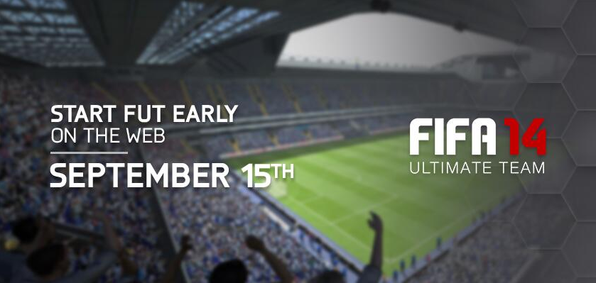 FIFA 14 Ultimate Team Web App Early Access Date Revealed