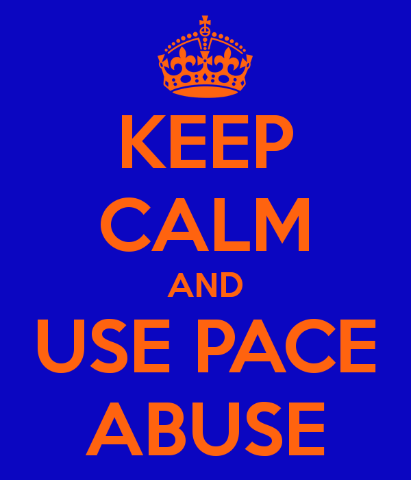 Keep Calm and Use Pace Abuse  How To Defend Against Pace Abuse and Who To Watch Out For keep calm and use pace abuse