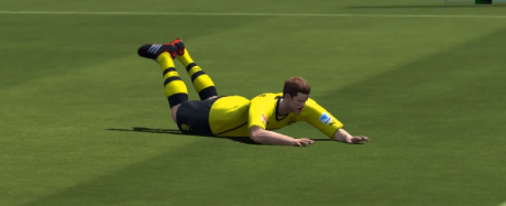 Chest slide  All 41 FIFA 14 Celebrations (Finishing Moves) Chest slide