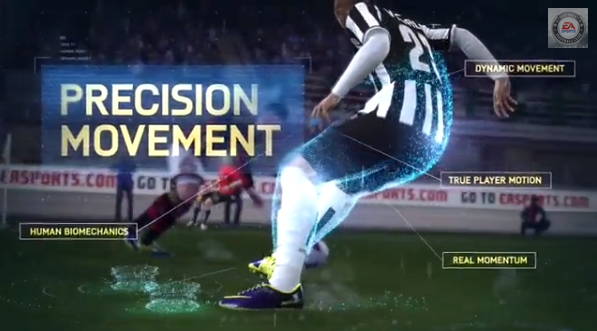 FIFA 14 Precision Movement