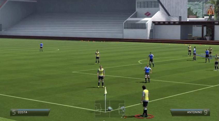 FIFA 14 Custom Corner