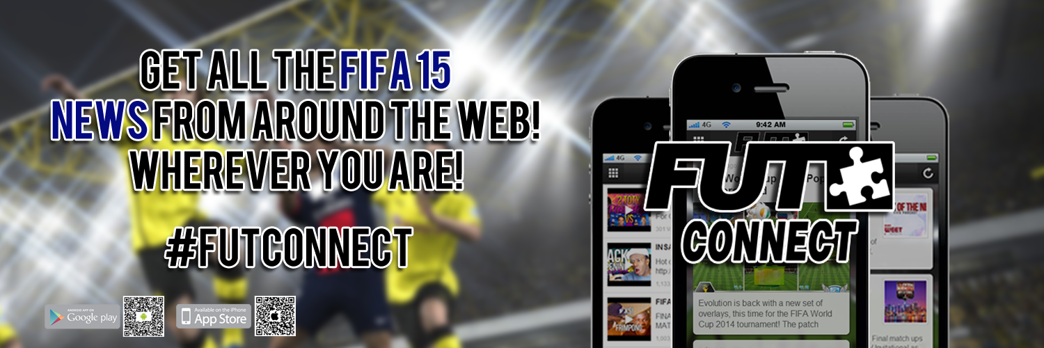 Get the FUT Connect App!!  E3 FIFA 15 Trailer - Feel The Game! futconnect footer