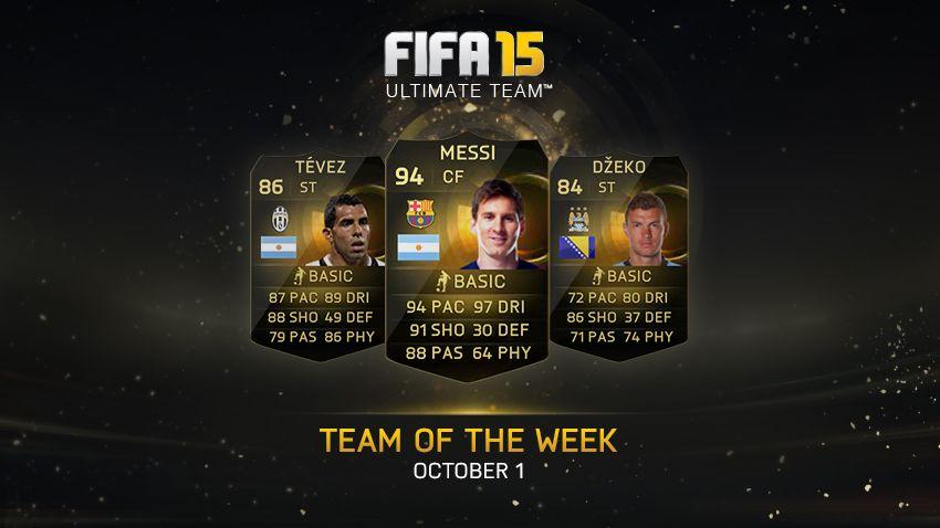 FIFA 15 TOTW 3
