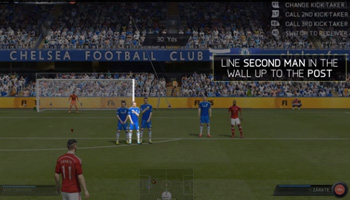 Where to aim a finesse freekick in FIFA 15  FIFA 15 Finesse Curved Free Kick Tutorial Where to aim a finesse freekick in FIFA 15