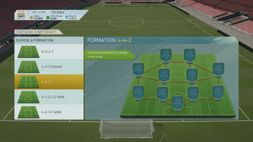 FUT Draft Formations FUT Draft - Ultimate Team's New Mode FUT Draft - Ultimate Team's New Mode FUT Draft Formations