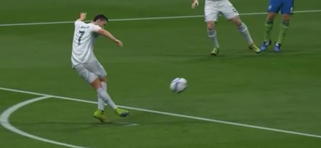 FIFA 16 Rabona Free Kick