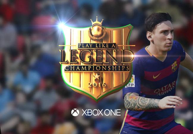 Gfinity FIFA 16 Play Like a Legend