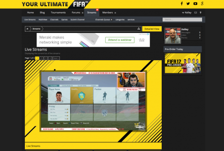 Live Streams Layout ultimate fifa - ultimate yeah ! Ultimate FIFA - Ultimate Yeah ! Screen Shot 2016 07 20 at 09