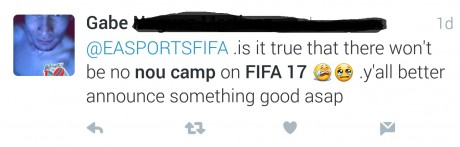 twitter1 fifa 17 nou camp FIFA 17 Nou Camp and UNDISPUTED Scientific Proof That Licencing Matters! twitter1