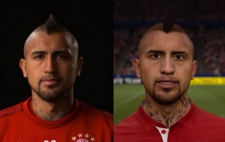 Arturo Vidal FIFA 17