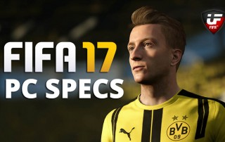 FIFA 17 PC Specifications
