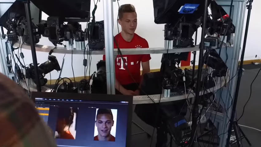 FIFA 17 Starhead 3D Scans fifa 17 head scans FIFA 17 Head Scans - FC Bayern Get The Starhead Treatment FIFA 17 Starhead 3D Scans