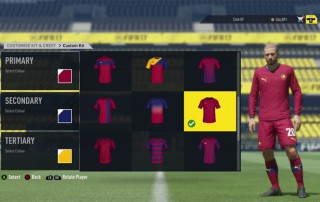 FIFA 17 Pro Clubs Customise Kit and Crest