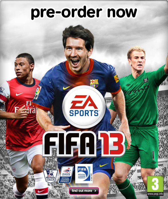 348de7d3735f View Larger Image FIFA13 UK Cover Stars
