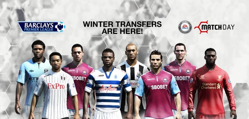Fifa 13 Winter Transfers Full Interactive List Ultimatefifa